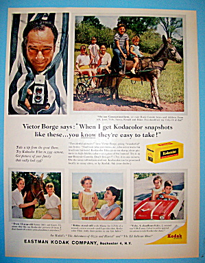 1959 Kodak Film With Victor Borge