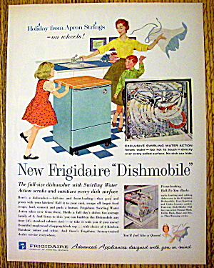1960 Frigidaire Dishmobile with Mom & Children (Image1)
