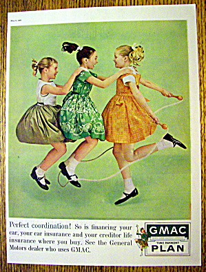 1961 GMAC Payment Plan with Girls Jumping Rope (Image1)