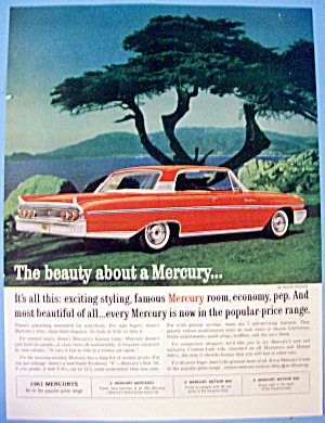 1961 Mercury With A Monterey By A Lake