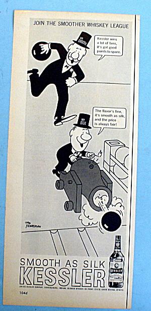 1961 Kessler Whiskey w/Mr. Smooth & Mr. Silk (Image1)