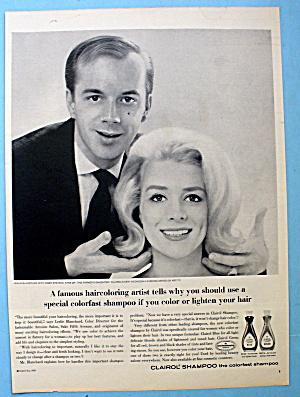 1964 Clairol Shampoo w/Inger Stevens & Leslie Blanchard (Image1)