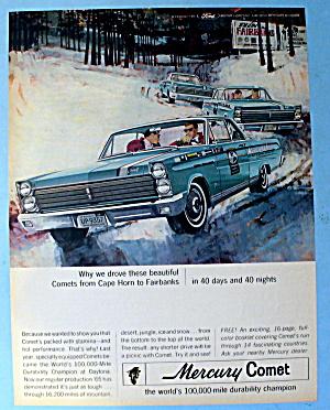 1965 Mercury Comet w/ Racing Comets (Image1)