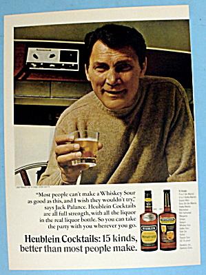 1967 Heublein Cocktails w/ Jack Palance (Image1)