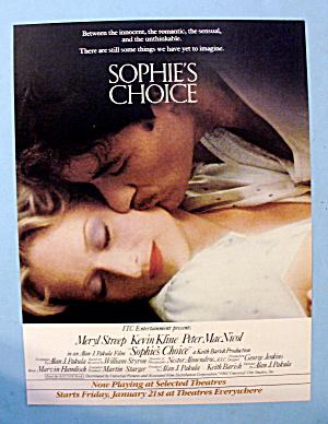 1982 Sophie's Choice w/ Meryl Streep & Kevin Kline (Image1)