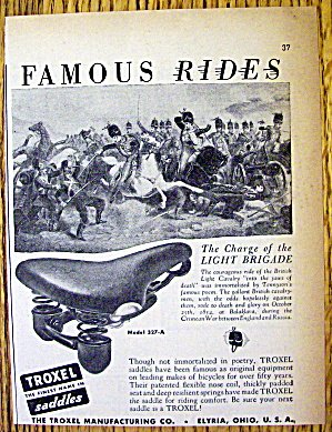1949 Troxel Saddles with The Charge of the Brigade (Image1)