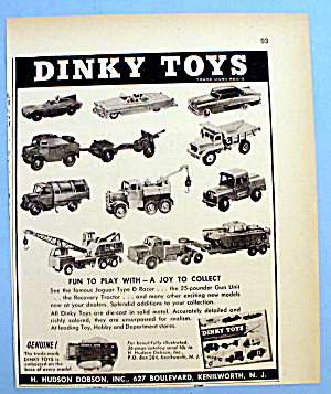 1957 Dinky Toys with Different Cars & Trucks (Image1)