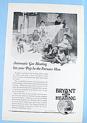 1927 Bryant Gas Heating W/ Kids And Movie