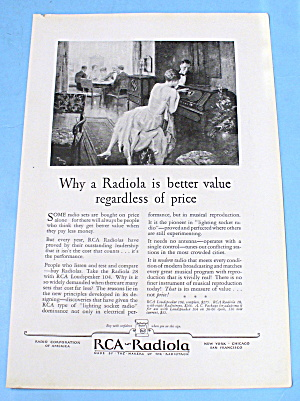 1927 RCA Radiola w/ Man & Woman Listening (Image1)