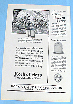 1927 Rock Of Ages With Oliver Hazard Perry