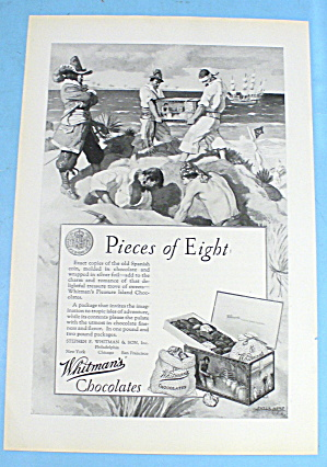 1927 Whitman Chocolates w/ Pieces of Eight with Pirates (Image1)