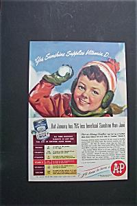 Vintage Ad: 1945  White  House  Evaporated  Milk (Image1)