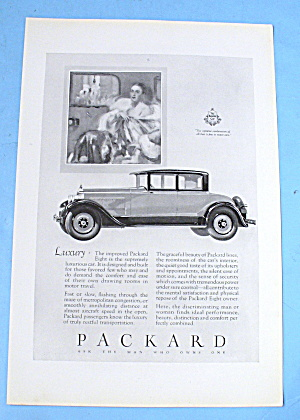 1927 Packard with The Packard Eight (Image1)