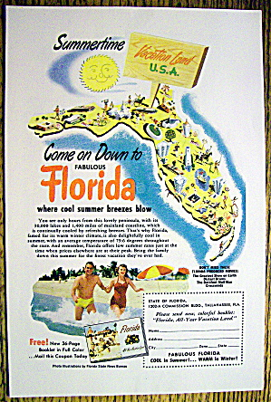 1952 Florida with Lots of Attractions (Image1)