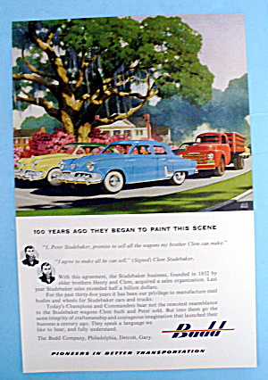 1952 Budd Company with Studebakers (Image1)