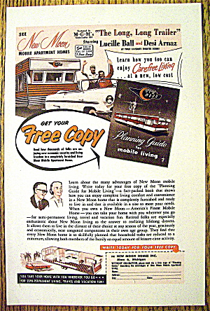 1954 Mobile Homes with Lucille Ball and Desi Arnaz (Image1)