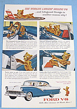 1956 Ford V-8 With Bear (Image1)