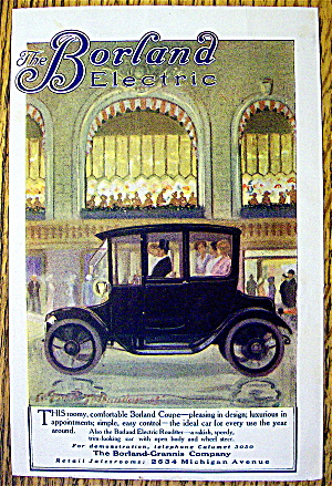 1913 The Borland Electric with the Borland Coupe (Image1)