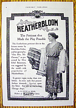 1910 Heatherbloom Petticoat with Lovely Woman (Image1)