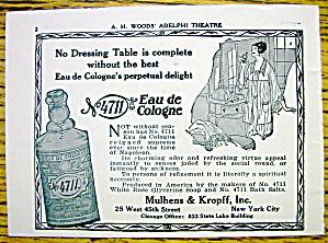 1928 No.4711 Eau De Cologne w/ Woman (Image1)