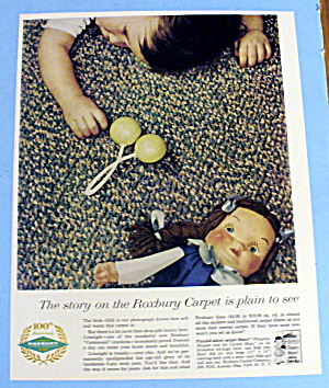 1959 Roxbury Carpet with Baby Laying (Image1)