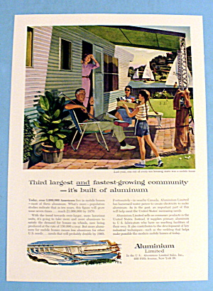 1959 Aluminum Limited w/ Mobile Home By John Falter (Image1)