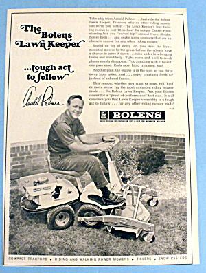 1967 Bolens Lawn Keeper with Golfer Arnold Palmer (Image1)
