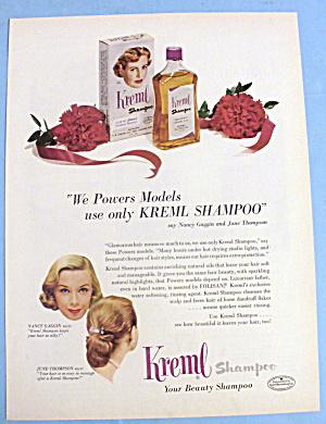 1952 Kreml Shampoo w/Powers Models (Gaggin & Thompson) (Image1)