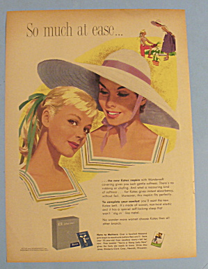 1957 Kotex with Two Lovely Women (Image1)