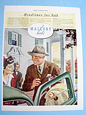 1941 Mallory Hats with the Casual Stowaway (Image1)