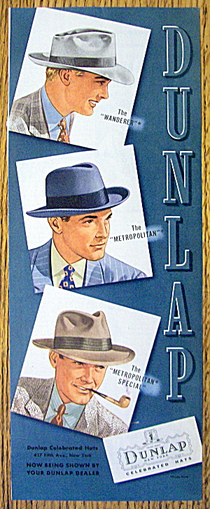 1942 Dunlap Hats with the Wanderer & More (Image1)