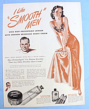 1946 Mennen Brushless Shave with Lovely Woman By Russ (Image1)