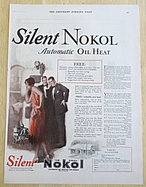1926 Silent Nokol with People Listening to Heater  (Image1)