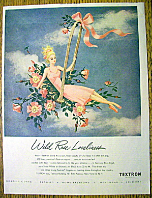 1946 Textron with Woman Sitting in Basket in the Sky (Image1)
