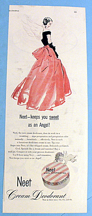 1946 Neet Cream Deodorant with Woman as an Angel (Image1)