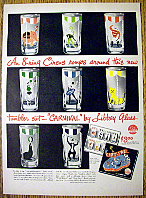 1946 Libbey Glass with the Carnival Tumbler Set (Image1)