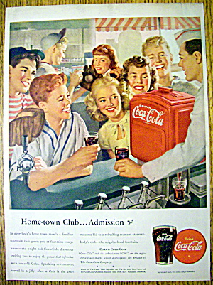1947 Coca Cola (Coke) w/ Group of Children (Image1)
