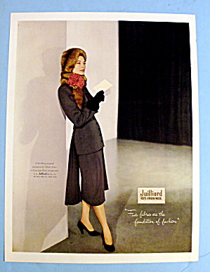 1947 Juilliard Wool with Woman in Ben Reig Design (Image1)