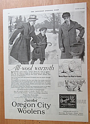 1920 Jacob's Oregon City Woolens with Men in Wool Coats (Image1)