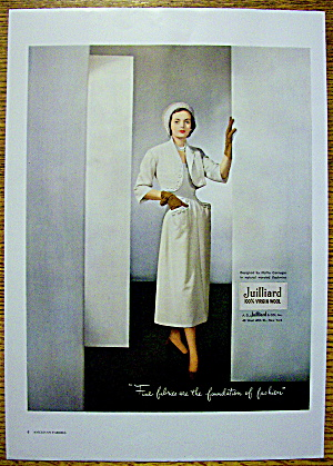 1948 Juilliard Wool w/ Woman in Carnegie Design (Image1)