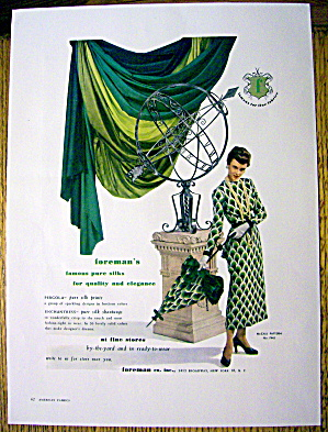 1948 Foreman Fabric w/ Matching Dress and Umbrella (Image1)