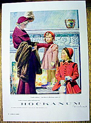 1948 Hockanum Woolens w/ Woman and 2 Girls (Image1)