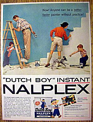 1957 Dutch Boy Nalplex Paint with Family (Image1)