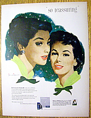 1958 Kotex with 2 Lovely Women By Jon Whitcomb (Image1)