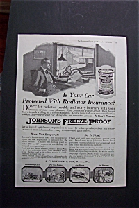 1918  Johnson's  Freeze - Proof (Image1)