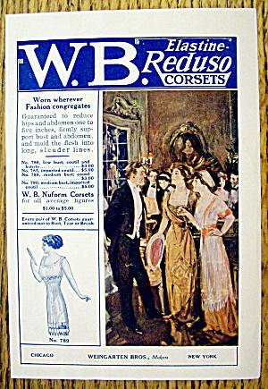1912 Weingarten Bros Reduso Corsets w/Women At Party (Image1)