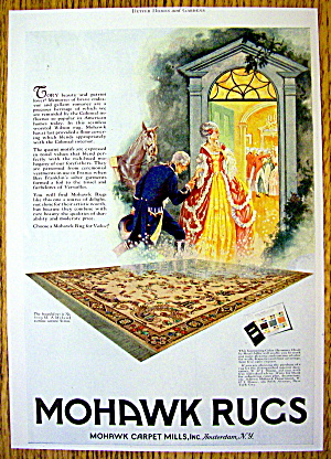 1927 Mohawk Rugs & Carpets with Colonial Couple (Image1)