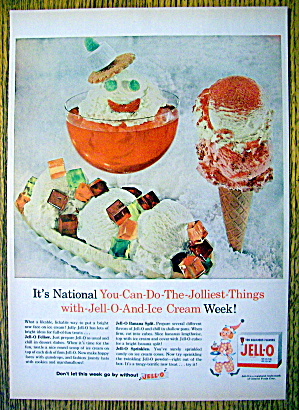 1959 Jell-o With Ice Cream, Banana Split & More