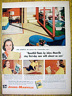 1959 Johns Manville Tiles With Mrs. America (Image1)