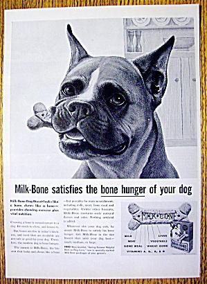 1959 Milk Bone Dog Biscuits with Boxer & Milk Bone (Image1)